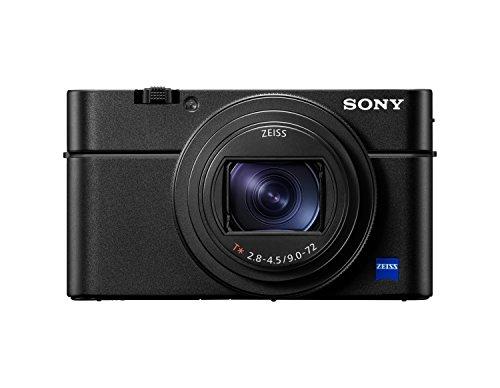 Sony RX100 VI Premium Kompakt Digitalkamera (20,1 MP, 7,6 cm (3 Zoll) Display, 1 Zoll Sensor, 24-200 mm F2.8-4.5 Zeiss Objektiv, 4K, herausragende Autofokusleistung) (DSC-RX100M6) schwarz