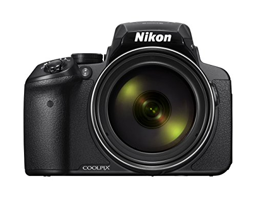 Nikon Coolpix P900 Digitalkamera (16 Megapixel, 83-fach optischer Megazoom, 7,5 cm (3 Zoll) RGBW-Display mit 921.000 Pixel, Full-HD-Video, Wi-Fi, GPS, NFC, bildstabilisiert) schwarz (DE Version)
