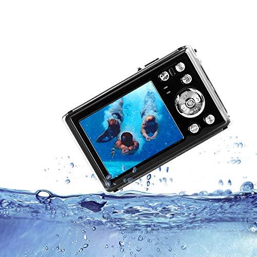 HG8011 wasserdichte Digitalkamera/ 8X Digital Zoom/ 12 MP/ 1080 P FHD/ 2,31' TFT LCD Bildschirm/Unterwasserkamera für Kinder/Jugendliche/Studenten/Anfänger/ältere Menschen