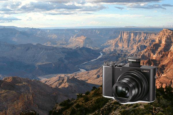 Panasonic Lumix TZ101 Kompaktkamera auf Reisen